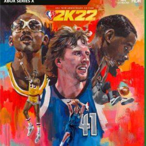 NBA 2k22 Xbox Game Account